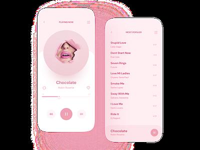Music Player App music app music app design design app mobile app
