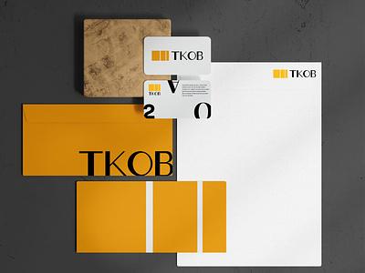 Rebrand Concept Part 1 - TKOB vector icon typography design branding brandidentity minimal ui logo motion graphics graphic design 3d animation illustration