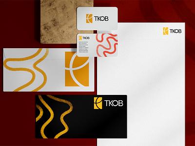 Rebrand Concept Part 2 - TKOB identity visual avisual art brand ui vector logo typography icon branding brandidentity minimal illustration design