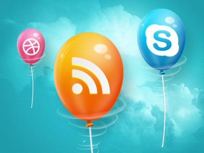 Icons - Social Network social ballon foan82 portugal rss skype dribbble twitter facebook youtube flickr myspace addthis deviantart cpluv krop thumblr orkut evernote digg reddit linkedin blogger mail wordpress vimeo posterous behance cargo sharethis