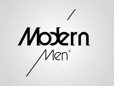 Identity modern men fashion style look identity logotype logo symbol vector brand foan82 portugal