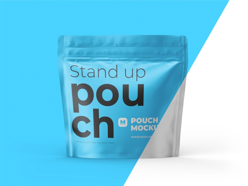 Stand-up Pouch Mockup (square)