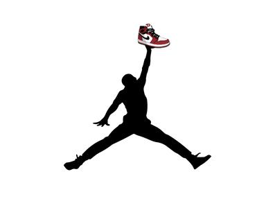 Sneaker Jumpman 🏀👟 nba jam nba playoffs nba finals nba poster portrait branding myth design poster illustration sneaker air jordan goat michael jordan jordan 23 jumpman nba chicago bulls
