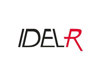 IDELR Racing Team sport sharp vector team logo team racing team racing logo brand design concept clean branding brand adobe illustrator