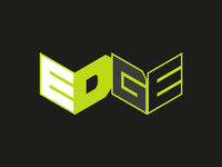 EDGE Brand Identity identity brand identity radio brand modern redesign logo branding design concept vector clean adobe illustrator