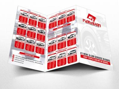 Booklet development for Karavan Rent corporate design booklet design vector branding design illustration