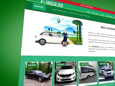 Development and promotion of a car rental portal webdesign website