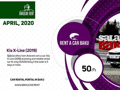 April TOP10 deals from local Rent a car Baku companies video ads banner ad video