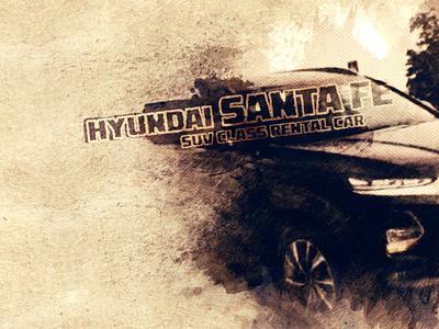 Hyundai Santa Fe / Weekly promotion from Rent a car Baku company video video ads