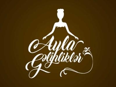 Logo design for Ayla Wedding by Elchin Ibrahimov logodesign branding illustration logo design logo