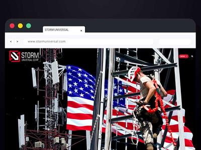 Landing page for USA telecommunication company web development web designer website design web design webdesign website