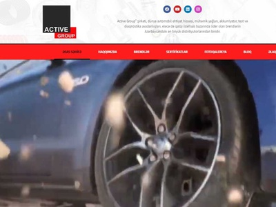 Website for a company that sells auto parts website design web design webdesign website