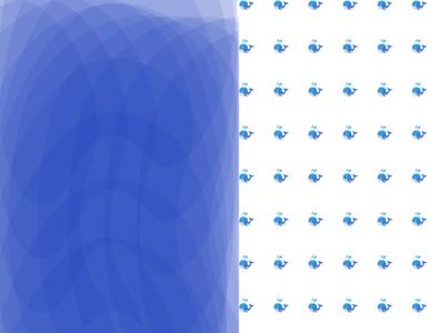 Daily UI Challenge #059 - Background Pattern ocean water whale patterns pattern art background day 059 ux vector illustration 100daychallenge uidesign dribbble figma dailyuichallenge design dailyui
