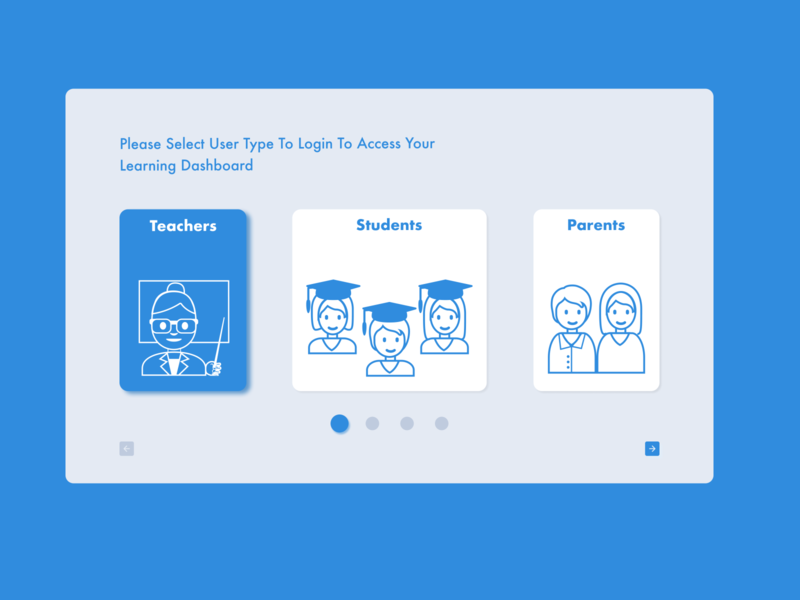 DailyUI #064 - Select User Type parents teacher student select user type vector art illustration uidesign ux ui dribbble figma dailyuichallenge design dailyui