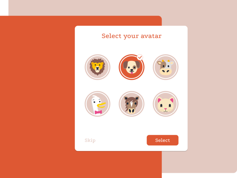 Daily UI #088 - Avatar day 088 avatars avatar vector ux ui uidesign figma dribbble 100daychallenge dailyuichallenge design dailyui