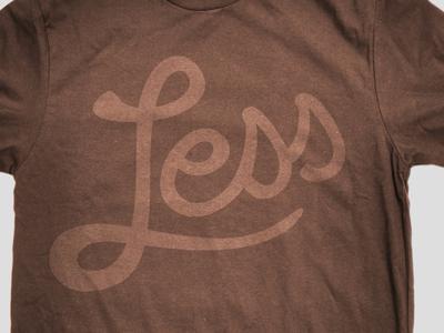LessEverything.com shirt design2 by SimpleFocus.com