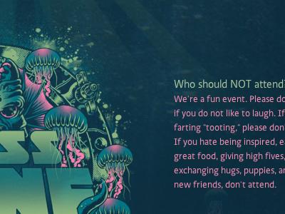 LessConf Website Design