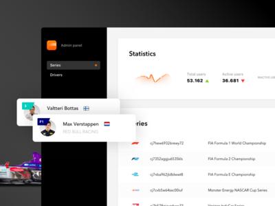 Race Dash - Admin Panel