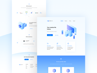 Medifiles - Landing Page 👨⚕️