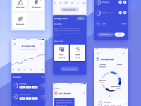 Hedge Fund App UI 📈💰