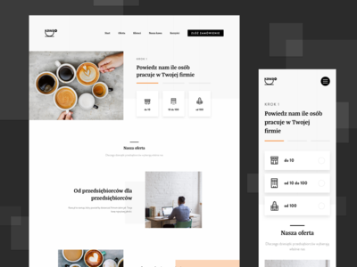Coffee Landing Page ☕️