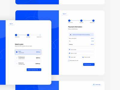 UI Kit - Sign up 👩‍💼👨‍💼(WIP) payment method create account onboarding ui sign up screen sign up web sign up page sign up form