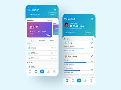 Money Management App budget app figma design ux ui money management money