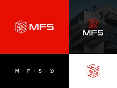 MFS logo logotype logodesign logos branding identity branding identity mark symbol typography architecture