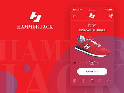 Hammer Jack - Mobile App ios app shop shoes edit ecommerce