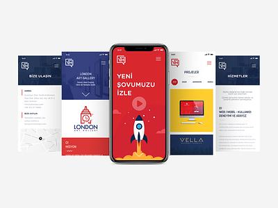 Mobile Web - VH Media media mobile web mobile ui design illustration app