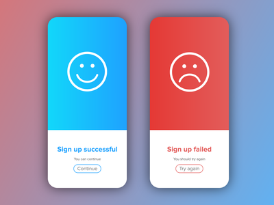 Daily UI #011 flash messages ux design app uiux ui dailyui