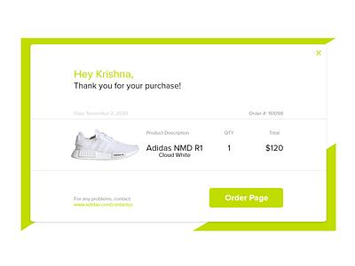 Daily UI #017 email receipt webdesign ux design app uiux ui dailyui