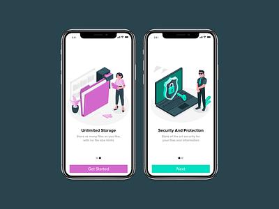 Daily UI #023 onboarding ux design app uiux ui dailyui