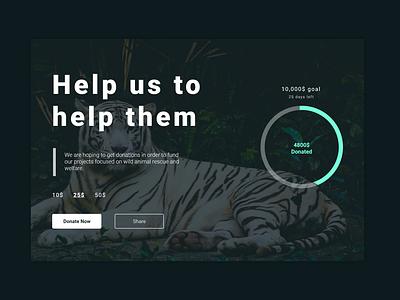 Daily UI #032 crowdfunding campaign web webdesign ux design app uiux ui dailyui