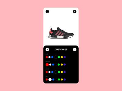 Daily UI #033 customize product ux design app uiux ui dailyui