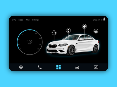 Daily UI #034 illustration web webdesign car interface ux design app uiux ui dailyui