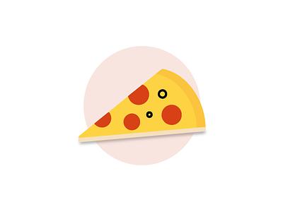 Pizza pizza vector art branding designer icon design minimalist graphicdesign food illustration food app logo icon design illustration