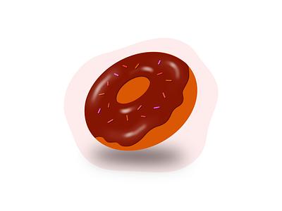 Donut brand freelancer procreate 3d art designer icon dribbble drawing design illustration donut