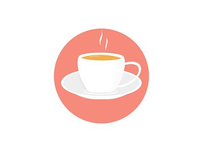 Tea Time dribble logo illustration art app morning branding tea teatime goodmorning design illustration