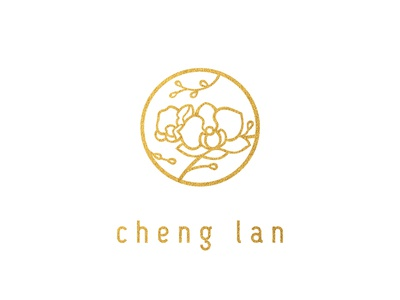 Orchid brand logo chinese east logo orchid