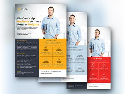 flyer design logo vector rollup agency advertisement illustration typography branding businesscard bill board flyer