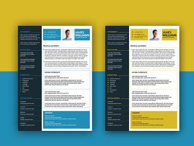 CV agency a4 advertising ui advertisement illustration typography branding businesscard bill board flyer