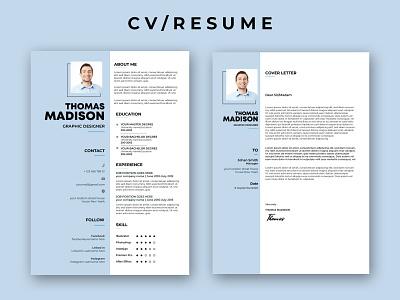 CV/RESUME advertising advertisement logo typography rollup branding design businesscard bill board flyer