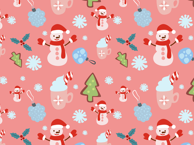Christmas Pattern cup new year 2021 seamless pattern christmas card christmas three new year snowman pattern art patterns christmas