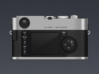The back side of Leica M9