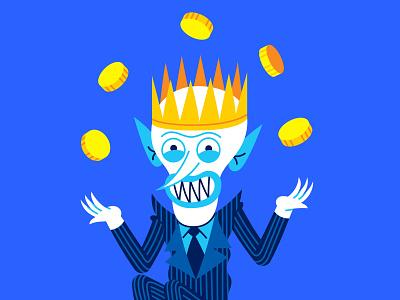Google Illustration folklore magician wizard king king wizard skeleton evil villain russian fairy tales fairy tale character characters illustration koschei