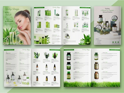 Cosmetics Products Catalog or Brochure Template modern catalog catalog template catalogue catalogue design beauty products catalogs brochure mockup brochure design creative  design modern design cosmetics products catalog product catalogue typogaphy catalog design brochure catalog product catalog print design graphic design branding