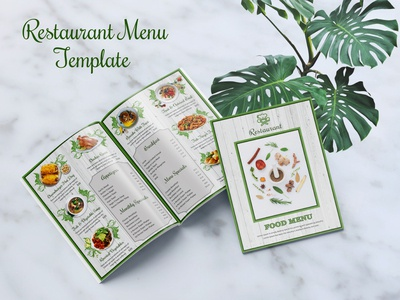 Food Menu Brochure Template a4 restaurant food menu design food menu brochure food and drinks menu restaurant menu food menu minimal vector ui design typography brochure design brochure print design modern design graphic design branding