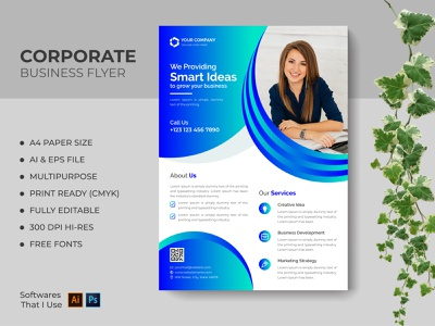 Corporate Business Flyer ai flyer template eps free flyer template a4 size a4 flyer flyer templates creative flyer template corporate business flyer flyer vector modern flyer minimal flyer template flyer design typography print design modern design graphic design branding