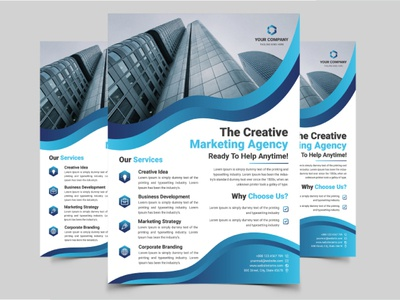Corporate Business Flyer clean agency advertising advertisement a4 vector minimal modern design modern modern flyer business flyer corporate flyer corporate business flyer flyer template flyer design abstract design template business flyer